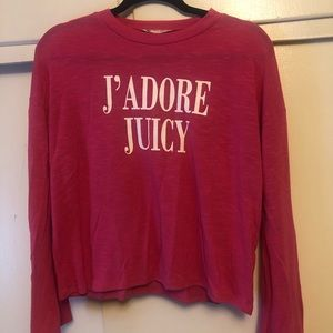 Juicy Couture J'ADORE JUICY long sleeve
